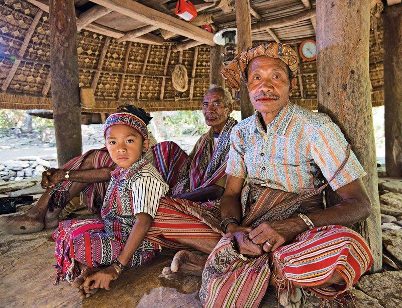 Timor - Boti village