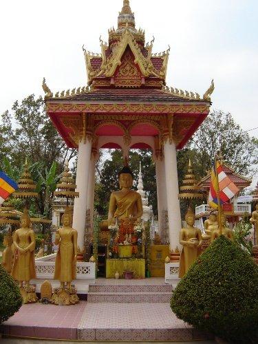 Laos.VientianeWat Sisaket