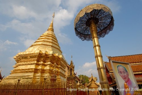 Doi Suthep Tempel, Karen en Tiger Kingdom