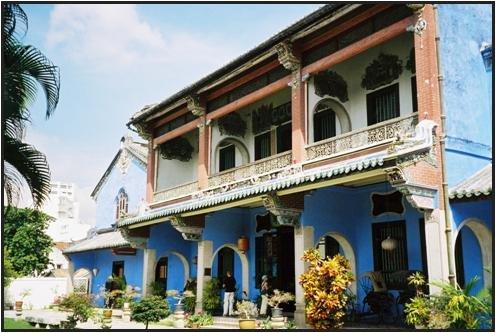 Penang - hotel Cheong Fatt Tze