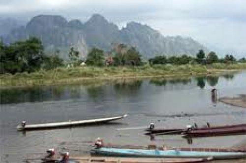 Laos.Khong Island