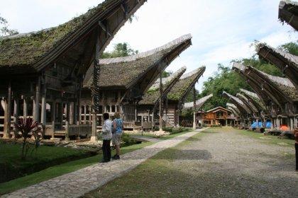 Toraja dorp