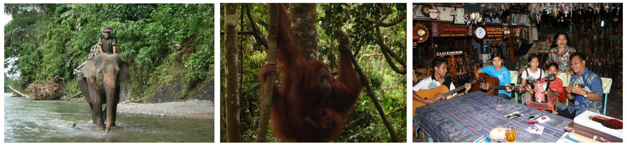 Vakantie Noord Sumatra