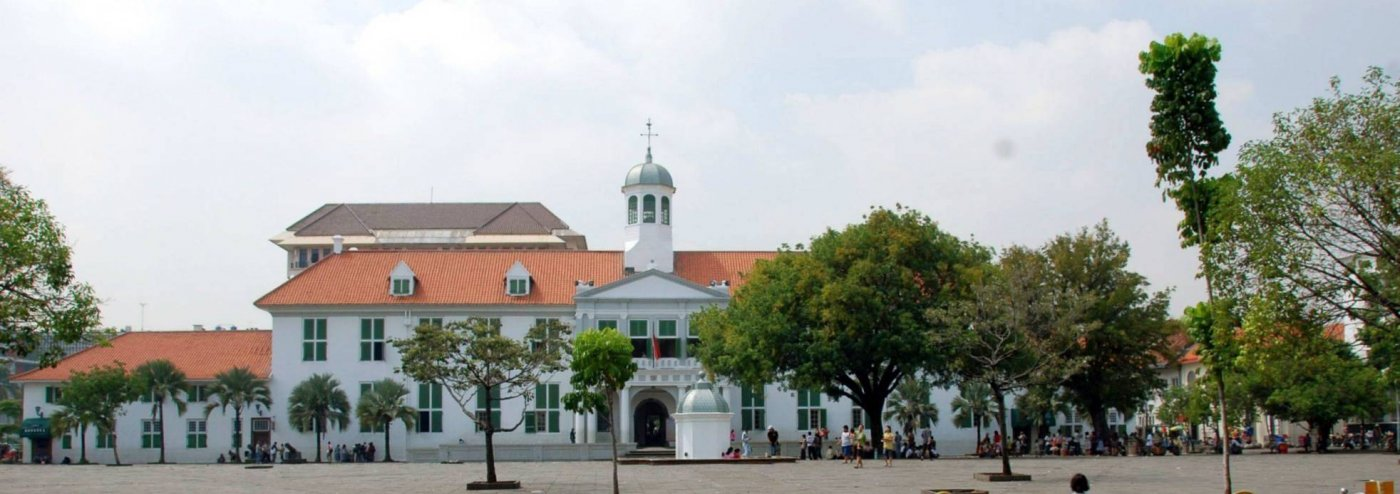 Jakarta oude stad