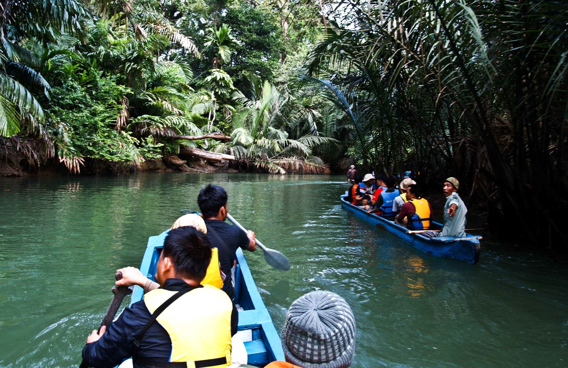 Ujung Kulon cano