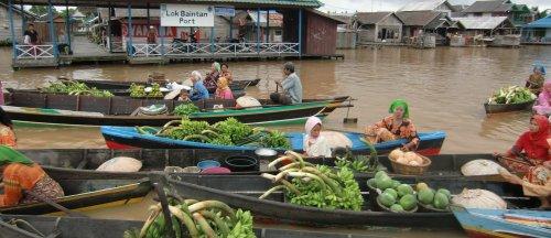 Banjarmasin market