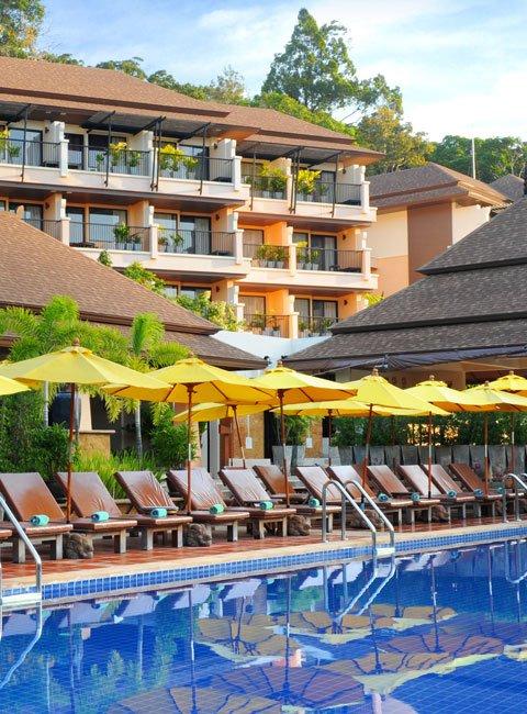 Ao Nang Cliff Beach Resort Krabi zwembad