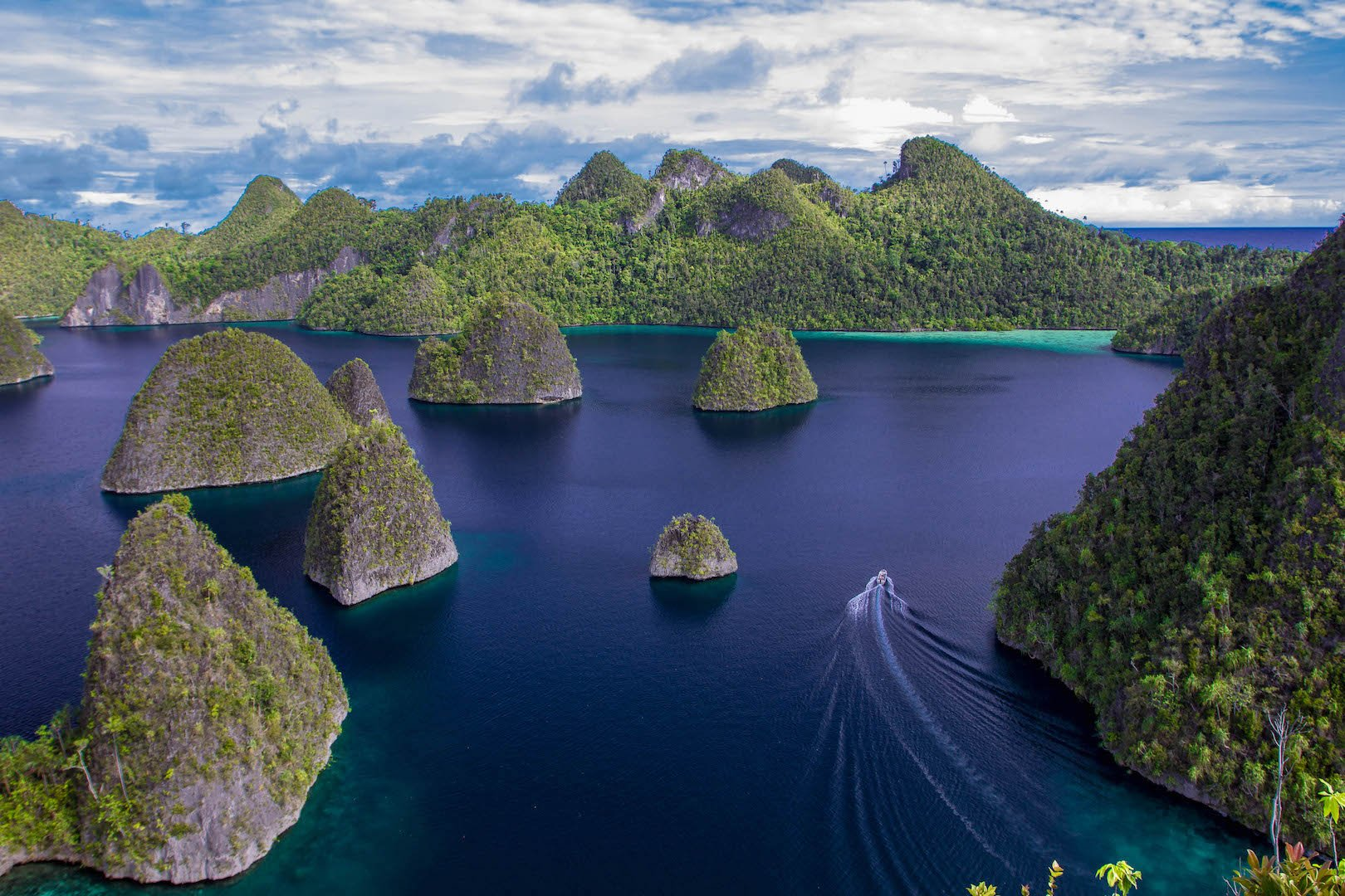 Karst islands Misool