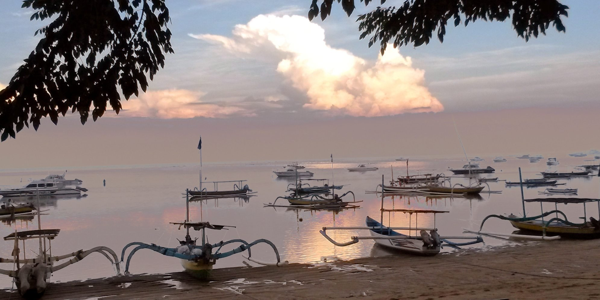 Sanur sunset
