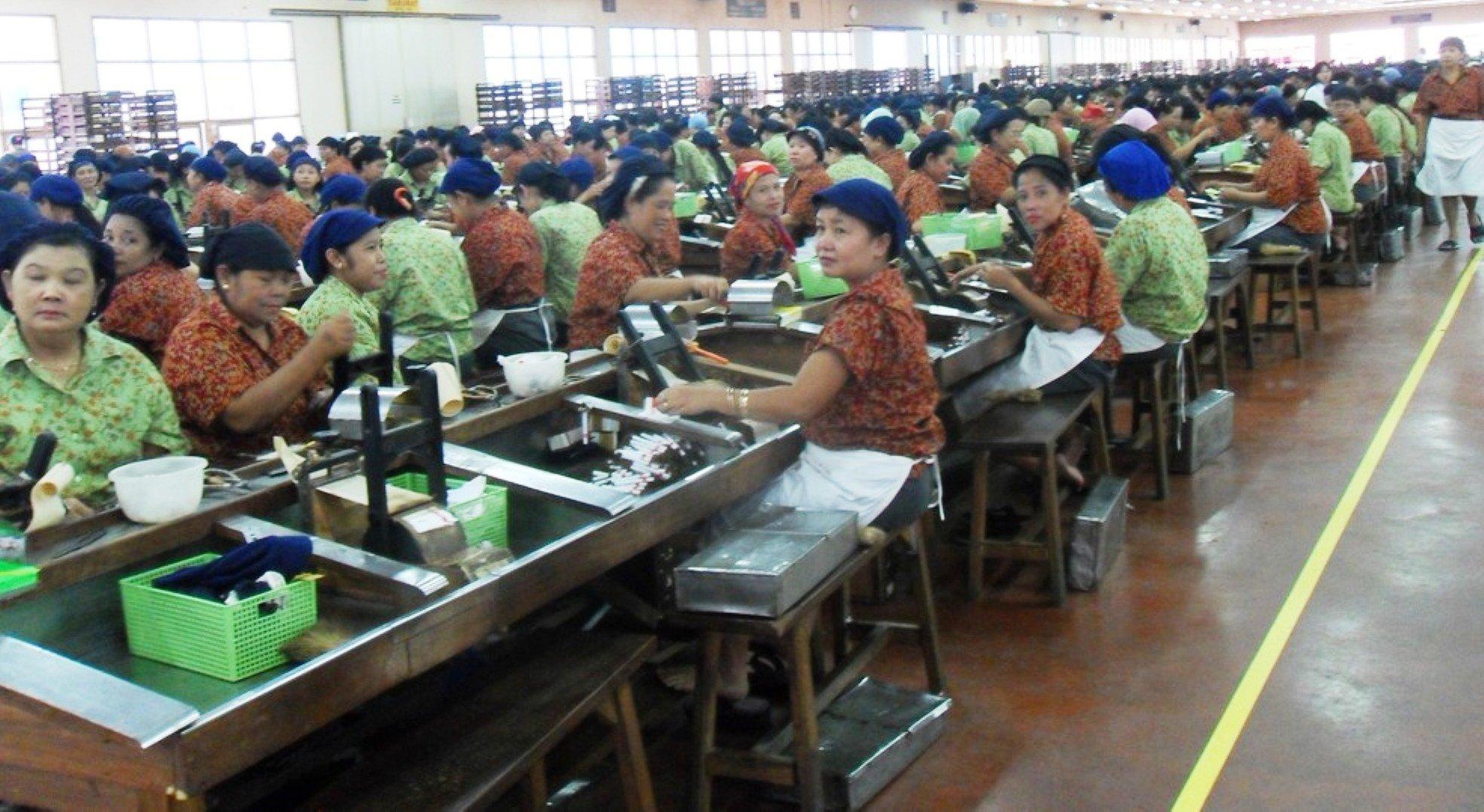 Kretekfabriek Kediri