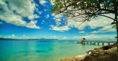 Spice Island resort jetty