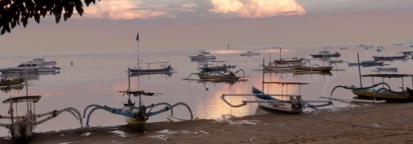 Bali Sanur sunset