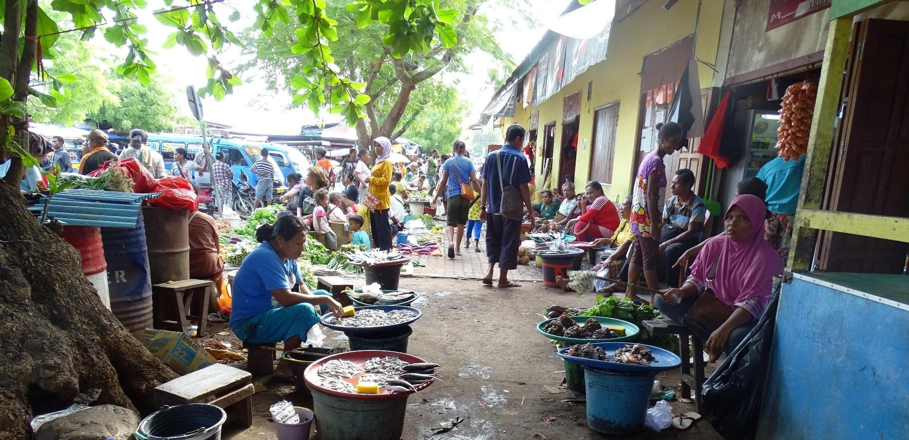 Alor Kalabahi market